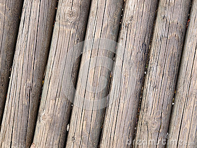 Wooden trunks background