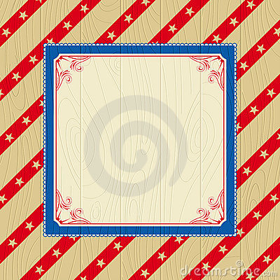 Wooden usa background
