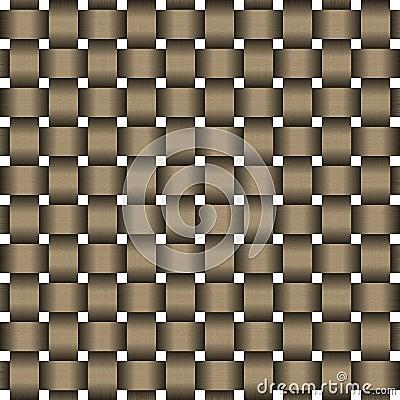 Wooden weave pattern