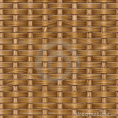 Wooden weaving