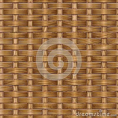 Wooden weaving