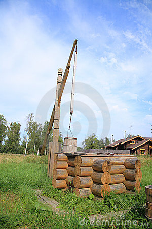 Free Wooden Well Stock Photography - 4885682
