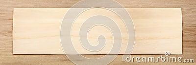 Wooden wide frame