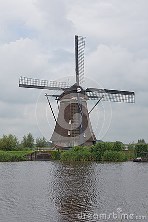 Wooden wind mill from Holland