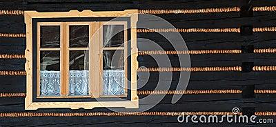 Wooden window #01
