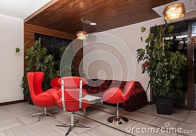 Woodland hotel - Modern interior