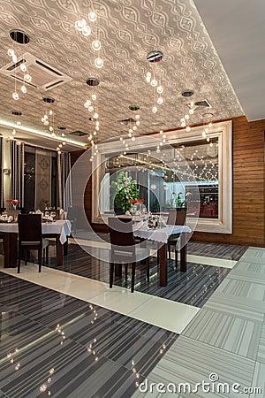 Woodland hotel - Restaurant dining room