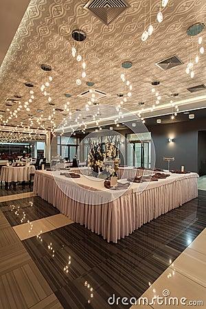 Woodland hotel - Restaurant table