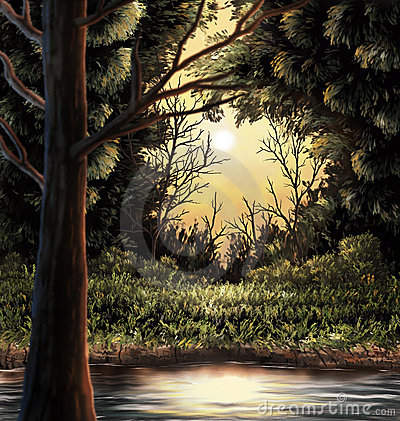 Woods Painting