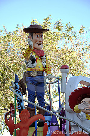 Woody in Disney World Orlando, Florida Editorial Photo