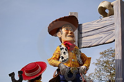 Woody Toy Story Editorial Image