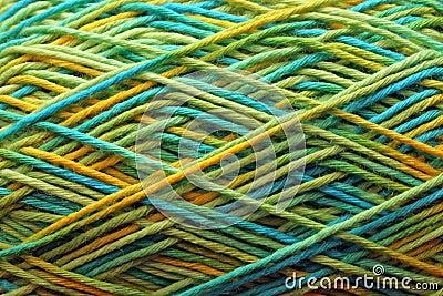 Wool ball texture