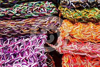 Wool fabrics, colors
