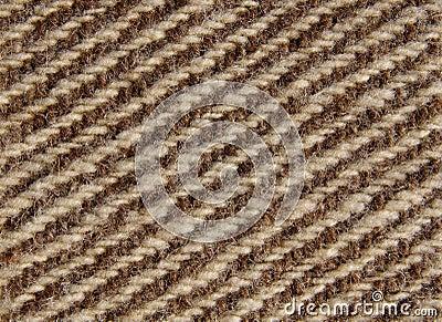 Wool stitch close up