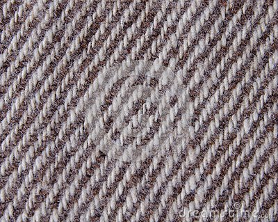 Wool stitch close up