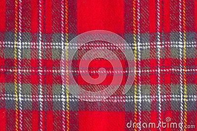 Woolen checkered  texture