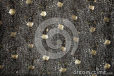 Woolen fabric gray