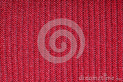 Woolen fabric red