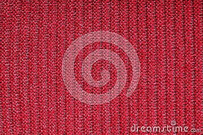 Woolen fabric red