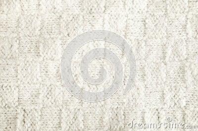 Woolen fabric white