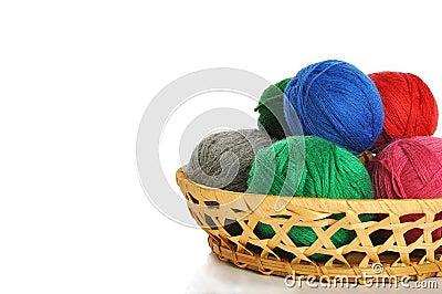 Woollen balls