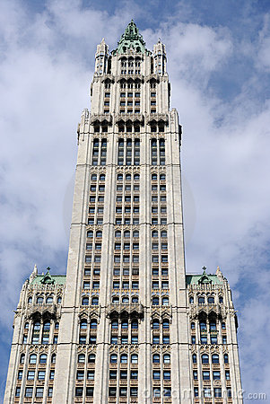 Woolworth Building Editorial Photo