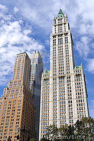 Woolworth Building Editorial Stock Photo