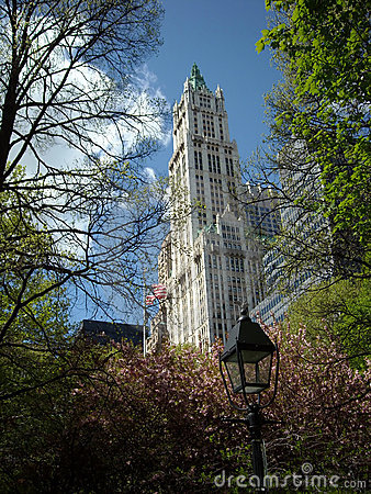 Woolworth Building New York City USA