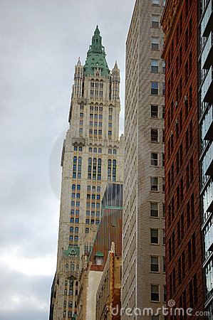 Woolworth Building in New York City