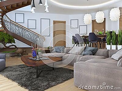 Hoekbank woonkamer welk zitmeubilair past bij jou interieur insider leuke hippe banken - Woonkamer met hoekbank ...