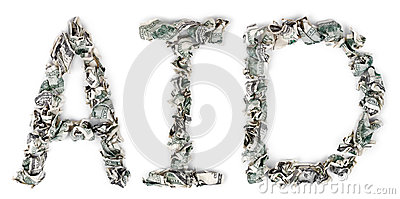 Aid - Crimped 100$ Bills