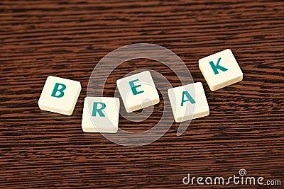 Word break