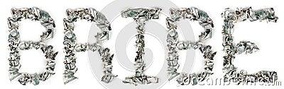 Bribe - Crimped 100$ Bills