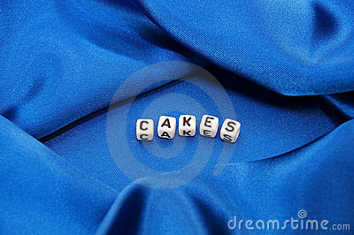 Word Cakes in Food Related Series