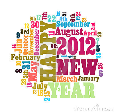 Word Cloud of 2012