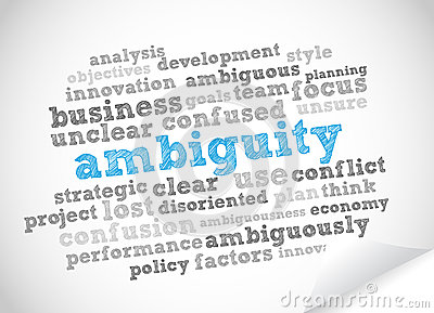 Word Cloud Ambiguity