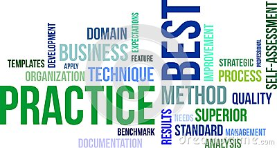 Word cloud - best practice
