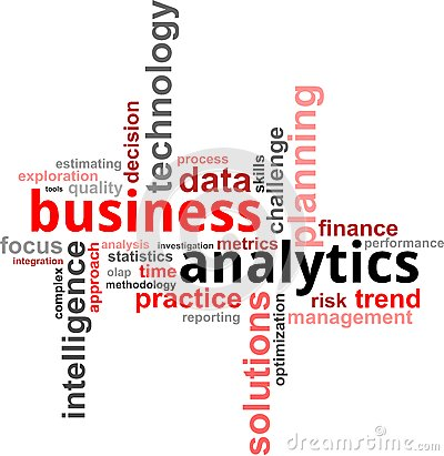 Free Word Cloud - Business Analytics Stock Image - 27570071