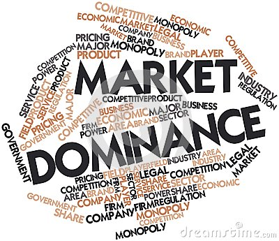 Word cloud for Market Dominance