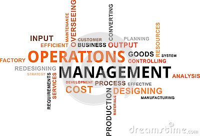 Operations Management. Stock Illustration - Image: 49748441