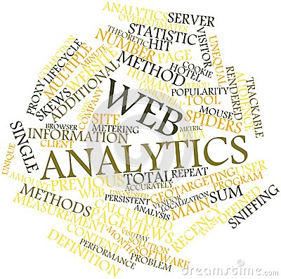 Word cloud for Web analytics
