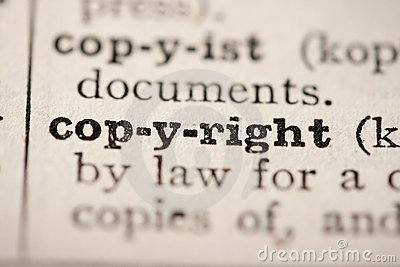 Word copyright