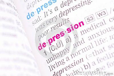 Word depression