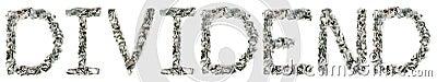 Dividend - Crimped 100$ Bills
