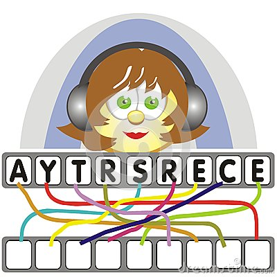 Word game with the secretary