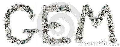 Gem - Crimped 100$ Bills