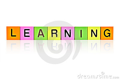 Word LEARNING from letter blocks