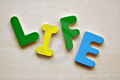 The word life