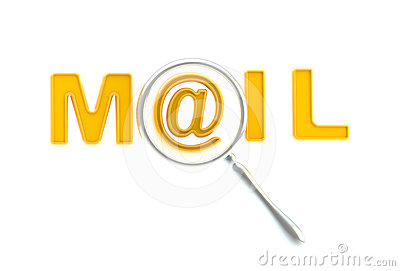 Word mail under the magnifier