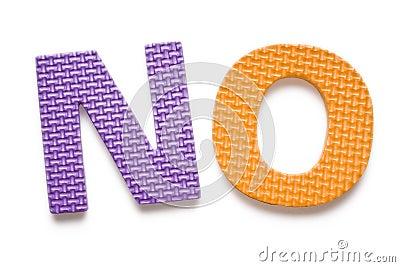 Word NO